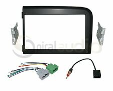 Radio Dash Kit Combo Standard & Oversized 2DIN + Wire Harness + Antenna VO12
