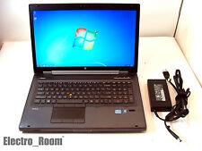 "HP EliteBook 8760w 17"" Biz / Gaming Laptop i5 2.6GHz 16GB Memory 320GB Win 7 Pro"
