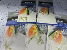 5 NEW MINI GLOW 3 HOOK 2/0 OCTOPUS MUPPETS PYG RIGS Cod Fishing Lures Sea Boat