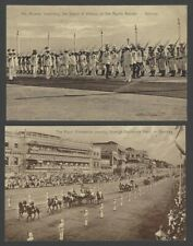 India 1911 Royal Visit Bombay postcards (8)