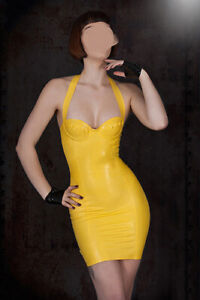 100% Latex gummi rubber kleid catsuit mode dating party beiläufig sexy rock