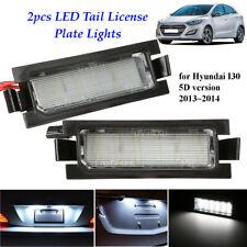 2x18LED License Number Plate Light Lamp For Hyundai I30 5D Hatchback Wagon  .+