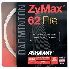 Ashaway ZyMax 62 Fire Badminton String - 0.62mm White (10m)