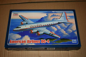 Minicraft American Airlines DC-4 1/144 scale plastic model kit