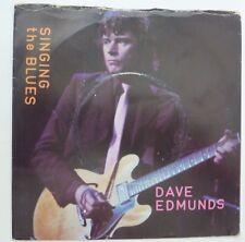 """DAVE EDMUNDS - SINGING THE BLUES 1980 7"""" VINYL SINGLE SSK 19422."""