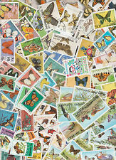 Collection 100 diff. stamps - Vlinders / Butterflies / Schmetterling (Y1010.C)