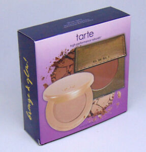 TARTE GLOW GIRLS Bronze & Highlight Duo  0.077oz/2.2g NIB