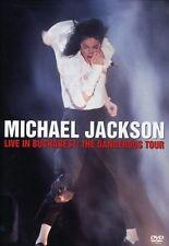 Michael Jackson: Live in Bucharest - The Dangerous Tour (2005, DVD NEUF)