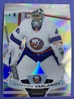 2019-20 OPC Platinum Rainbow Base #139 Semyon Varlamov New York Islanders