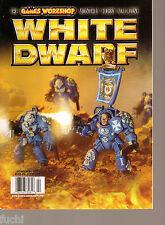 White Dwarf #303 Index Astartes Terminators, LOTR Witch Realms of Angar Stats