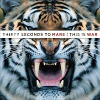30 THIRTY SECONDS TO MARS: THIS IS WAR 2009 CD NEW