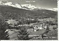 vecchia cartolina santa caterina valfurva con il monte sobretta 1965 sondrio
