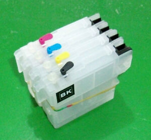 Refillable LC38 LC67 DCP 165C 195C cartridges Novelly design ( no ink )