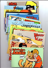 Ux221-40 American Comic Strips #3000 Postcard set of 20 Mint
