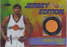 Jason Terry KINGS 2001-02 Topps Chrome JERSEY EDITION
