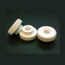 10 Pacco di M5 NYLON NUTS GALLETTO con colletto, 16mm do