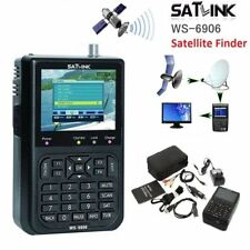 "Digital SATlink Satellite Signal Finder Meter WS-6906 DVB-S FTA SAT 3.5"" LCD"