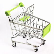 Mini Supermarket Handcart Shopping Utility Cart Mode Storage Toy