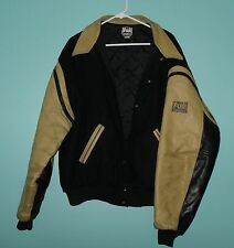 Vintage FOX Sports NFL ON FOX Hip Hop Varsity Lettermen's Jacket Men's Large