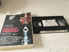 DEADLY PURSUIT - SIDNEY POITIER -  VIDEO VHS