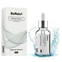 Best Retinol Face Serum + Vitamin C + Hyaluronic Acid Anti-Aging Blemishes 30 ML
