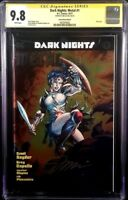 DC Comic DARK NIGHTS METAL #1 CGC SS 9.8 Jim Lee Foil WONDER WOMAN BATMAN LAUGHS