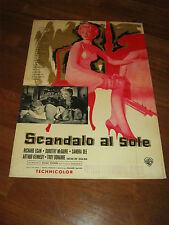 Fotobusta,1960 SCANDALO AL SOLE A SUMMER PLACE SANDRA DEE DONAHUE EGAN DAVES