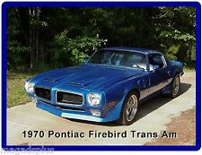 1970  Pontiac Firebird Trans Am   Refrigerator / Tool Box  Magnet