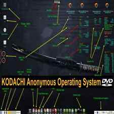 KODACHI Live / Install Boot DVD Anonymous Anti-forensic Operating System 64 BIT