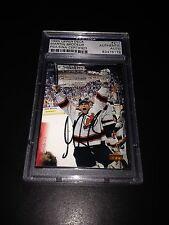 Martin Brodeur Signed 1995-96 Upper Deck Devils Card PSA Slabbed #83476176