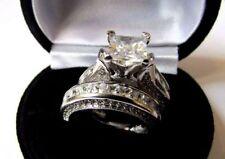 Princess Christmas Simulated Fine Diamond Rings
