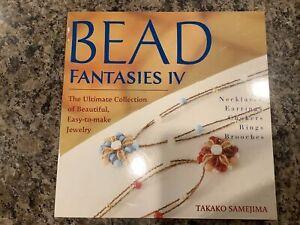 'Bead Fantasies IV' Japanese How To Beading Book by Takako Samejima