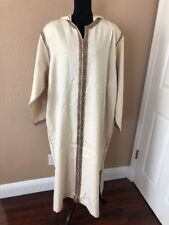 Beige Off White Plus Size Jellaba Large Hood size 3X brand new