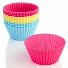 Inditradition Silicone Muffin Cup Moulds, Cupcake Liners