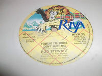 "ROD STEWART "" TONIGHT'S THE NIGHT "" 7"" SINGLE 1976 VG RIVA"