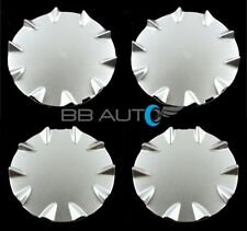SET OF 4 NEW AFTERMARKET SILVER WHEEL CENTER CAPS FOR 2003-2006 CHEVROLET SSR