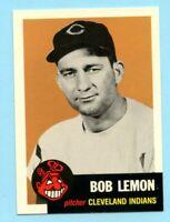 1953 Topps Archives #284 Bob Lemon - Cleveland Indians