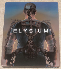 Matt Damon ELYSIUM Neill Blomkamp STEELBOOK All Region Blu Ray SCI-FI CTION