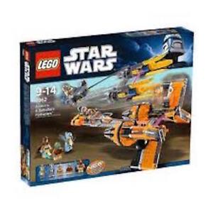 LEGO STAR  WARS  ANAKIN + SEBULBA'S  PODRACERS  (#7962)   BRAND  NEW