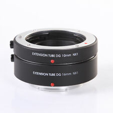 Fotga Electronic Auto focus Macro Extension Tube 10mm+16mm fr Samsung NX mount