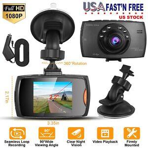 1080P HD Car DVR Dash Camera Font Driving Camera Video Recorder Cam Night Vision