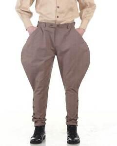 Steampunk Victorian Costume Archibald Jodhpur Pants C1326