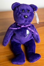 Princess Diana TY Beanie Baby 1st Edition No Space Swing Tag PVC Indonesia 1997