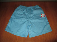 New Womens Size 10 Chic Blue Shorts Comfort Collection Easy Care Slip On @@