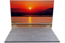 Diorama Coucher de soleil | Sunset - 1/18ème - #18-2-F-F-037
