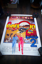 CANONBALL RUN 2 4x6 ft French Grande Rolled Vintage Movie Poster Original 1984
