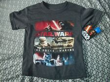 Star Wars The Force Awakens Size 4 Shirt
