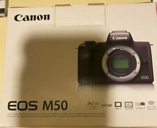 Canon EOS M50 Mirrorless EF-M APS-C Camera - Black (Body Only) New