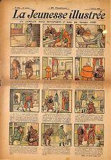 """ LA JEUNESSE ILLUSTREE "" PERIODIQUE BENJAMIN RABIER GEORGES OMRY BONAPARTE 1908"