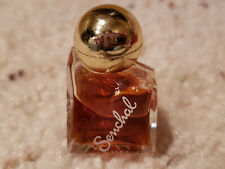 Vintage Charles of The Ritz Senchal Mini Perfume .2 oz 60% full